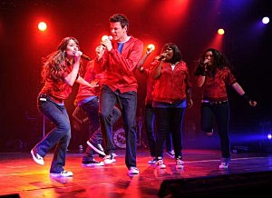Glee Cast In Concert At Radio City Music Hall