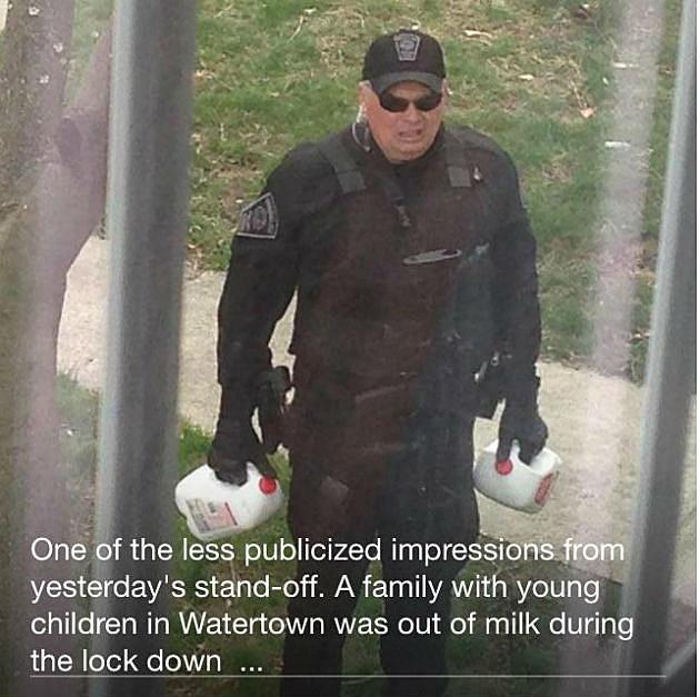 boston police milk