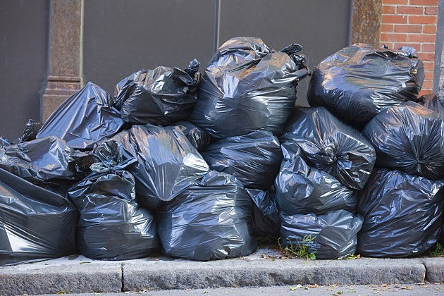 Pile of Trash Bags
