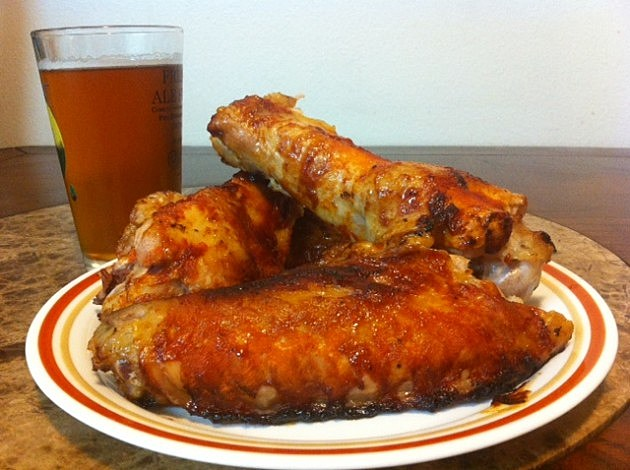 turkey buffalo wings