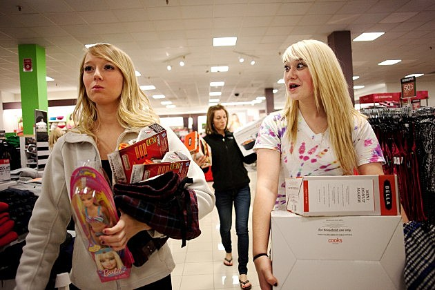 "Black Friday"" Marks Start Of Holiday Shopping Season"