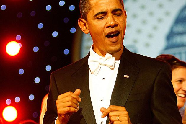 President Obama Dancing
