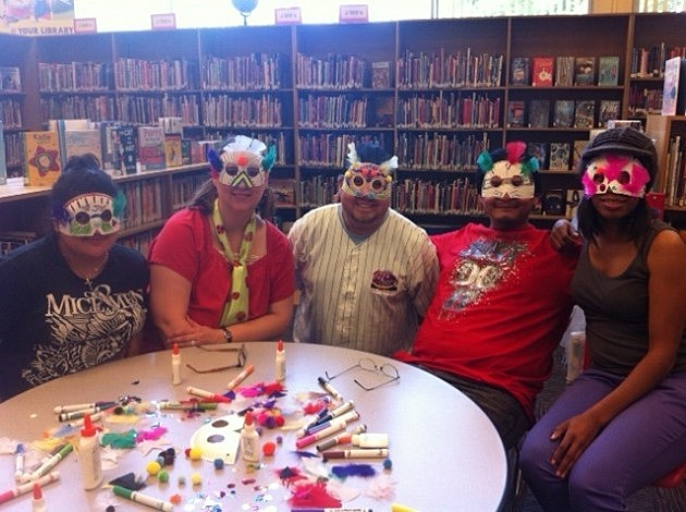 library masks