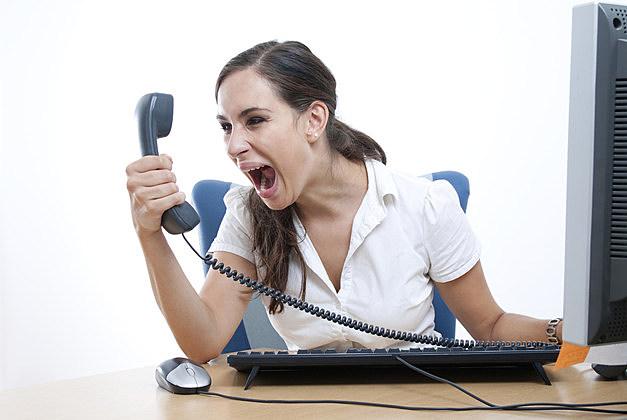phone yell
