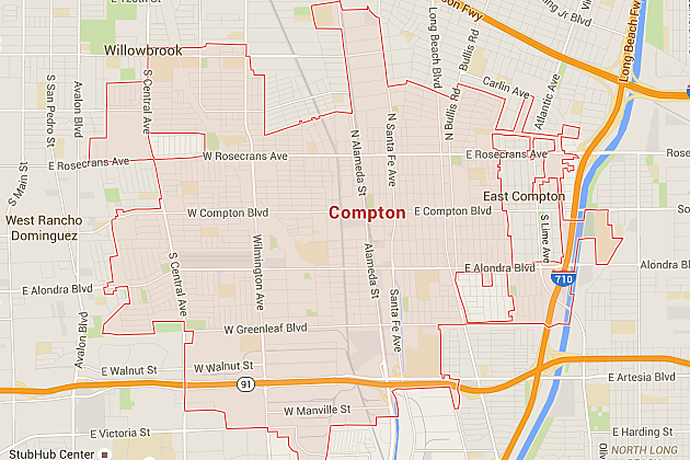 Where Is Compton