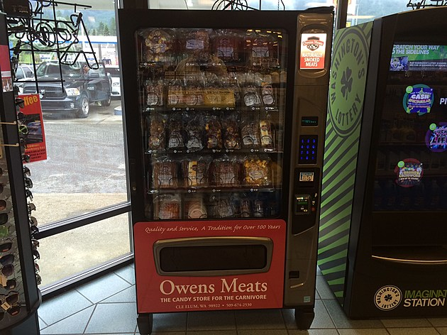 owens meats vending machine
