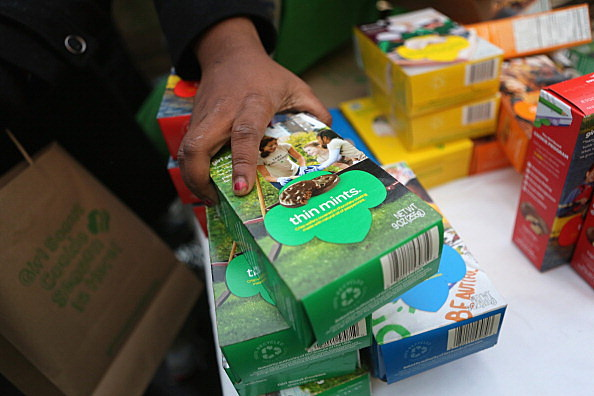 Get Girl Scout Cookies In Yakima