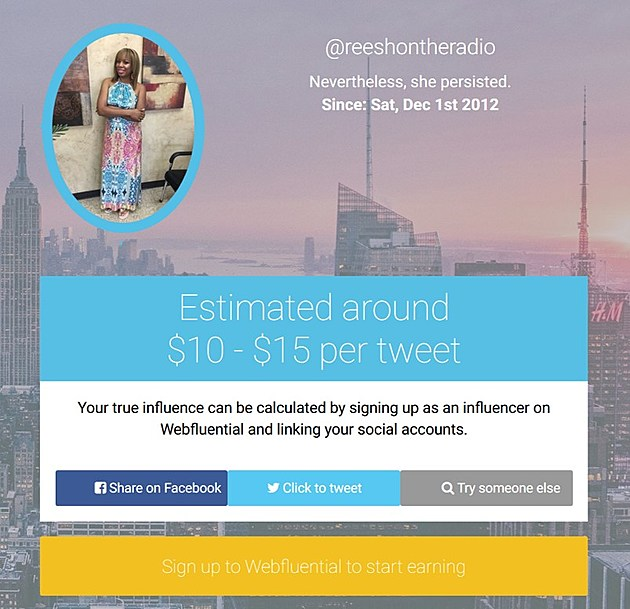 Find out how much your tweets are worth