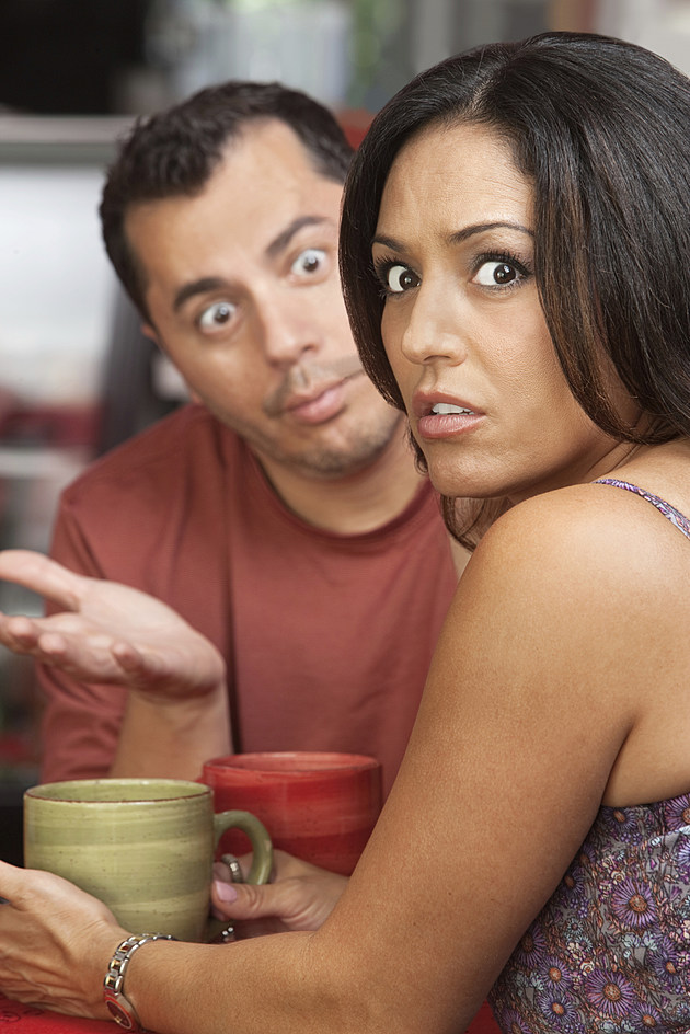 Woman & Man on a bad date