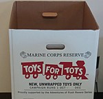 Toys For Tots Drop Box