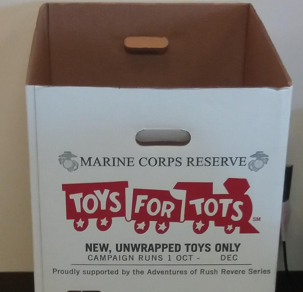 Collecting Toys With The U S Marine Corps And Toys For Tots