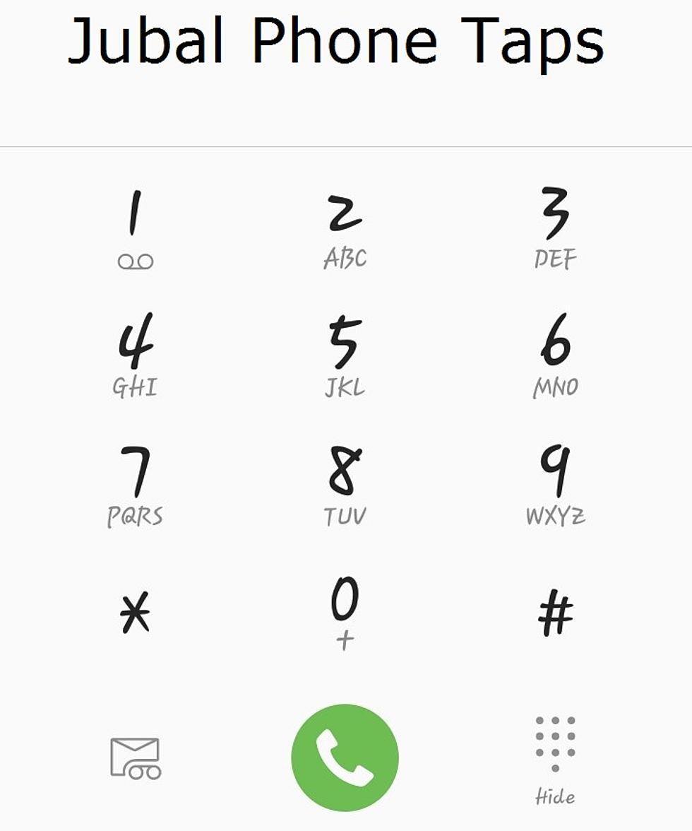 Jubal Phone Taps — Jaw Wired Shut